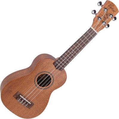 Laka Vintage Series Soprano Acoustic Ukulele Solid Mahogany