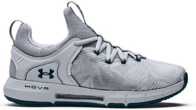 Under Armour Hovr Rise 2 Womens Shoes Mod Gray/Mod Gray/Dark Cyan 7.5