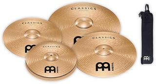 Meinl C14161820M Classics complete cymbal Set