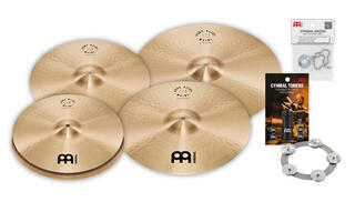 Meinl PA15182022M Pure Alloy complete cymbal set
