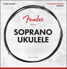 Fender California Coast Soprano Ukulele Strings Set of Four