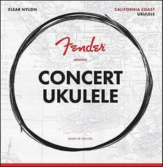 Fender California Coast Concert Ukulele Strings Set of Four