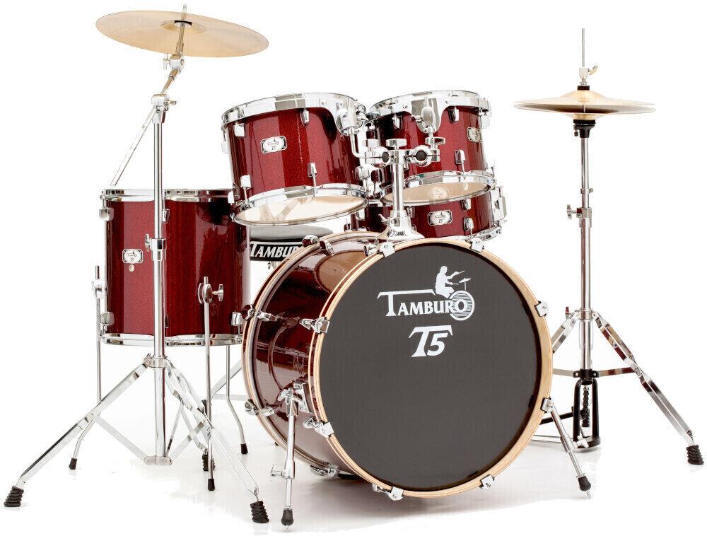 Tamburo T5S22 Red Sparkle