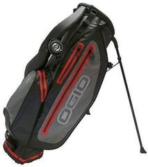 Ogio Aquatech Black/Charcoal/Red Stand Bag 2018