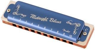 Fender Midnight Blues C Diatonikus szájharmonika