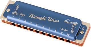 Fender Midnight Blues G Diatonikus szájharmonika