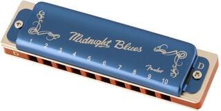 Fender Midnight Blues D Diatonikus szájharmonika
