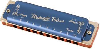 Fender Midnight Blues F Diatonikus szájharmonika