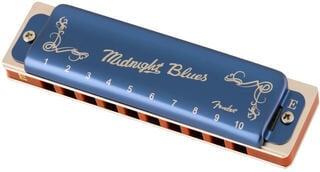 Fender Midnight Blues E Diatonikus szájharmonika