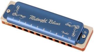 Fender Midnight Blues Bb Diatonikus szájharmonika