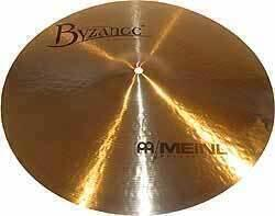 "Meinl Byzance 16"" Jazz Medium Thin Crash"