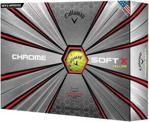 Callaway Chrome Soft X Yellow 18
