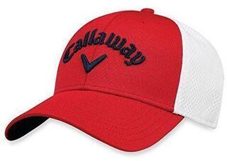 Callaway Mesh Fitted 18 Red/White