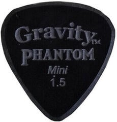 Gravity Picks Classic Mini 1.5mm Master Finish Phantom