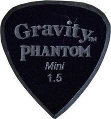 Gravity Picks Classic Pointed Mini 1.5mm Master Finish Phantom