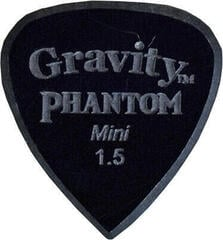Gravity Picks Classic Pointed Standard 1.5mm Master Finish Phantom
