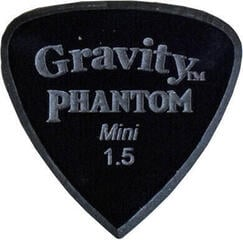 Gravity Picks Edge Mini 1.5mm Master Finish Phantom