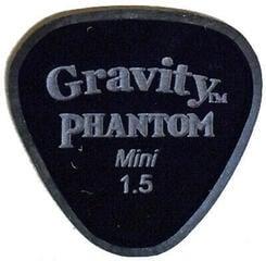 Gravity Picks Axis Mini 1.5mm Master Finish Phantom