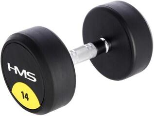 HMS HG Pro Rubbered One-Handed Dumbbell 14 kg