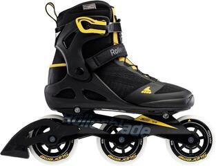 Rollerblade Macroblade 100 3WD Black/Saffron Yellow 285 (B-Stock) #932607 (Odprta embalaža) #932607