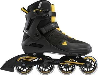 Rollerblade Spark 80 Black/Saffron Yellow 255