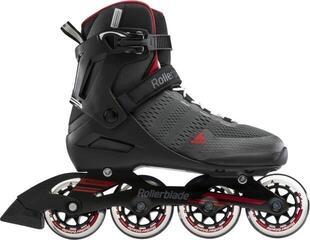 Rollerblade Spark 84 Dark Grey/Red 280