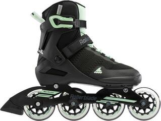 Rollerblade Spark 84 W Black/Mint Green 255 (B-Stock) #932977 (Unboxed) #932977