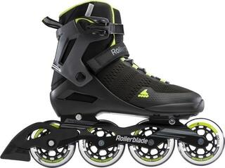 Rollerblade Spark 90 Black/Lime 265 (B-Stock) #933532 (Unboxed) #933532