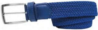 Alberto Belt Basic Braided Turquoise