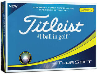 Titleist Tour Soft Yellow Dz