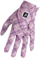 Footjoy Spectrum Womens Golf Glove Pink Tartan