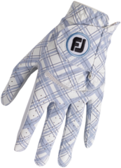 Footjoy Spectrum Womens Golf Glove Blue Tartan