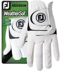Footjoy WeatherSof Mens Golf Glove 2018 White