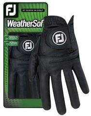 Footjoy WeatherSof Womens Golf Glove Black Left Hand for Right Handed Golfers S