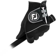 Footjoy RainGrip Mens Golf Gloves 2018 (Pair) Black