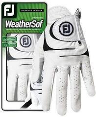 Footjoy WeatherSof Damen Golfhandschuh 2018 White
