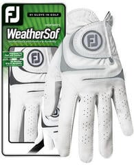 Footjoy WeatherSof Womens Golf Glove White/Grey