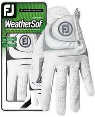 Footjoy WeatherSof Női Golf Kesztyű White/Grey