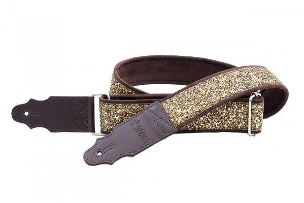 RightOnStraps Standard Plus Glitter Gold
