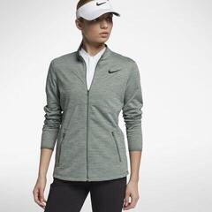 Nike Dry Womens Jacket Clay Green/Black L
