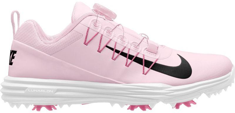 Nike Lunar Command 2 BOA Chaussures de Golf Femmes Arctic Pink/Black/White/Sunset Pulse US 8