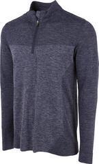 Puma Evoknit Seamless 1/4 Zip Mens Sweater Peacoat