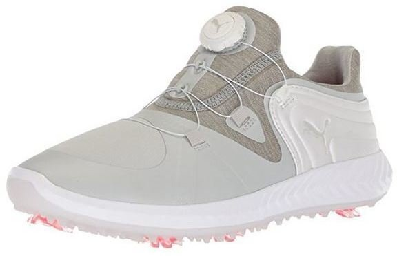 Puma Ignite Blaze Sport Disc Womens Golf Shoes Gray Violet/White UK 4