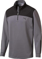 Puma PWRWARM 1/4 Zip Mens Sweater Quiet Shade