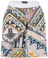 Golfino Tribal Print Womens Skort White