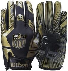 Wilson NFL Stretch Fit Receiver Gloves Gold