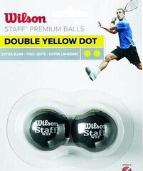 Wilson Staff Squash Balls Double Yellow