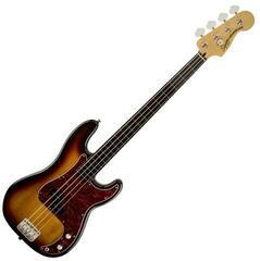 Fender Squier Vintage Modified Precision Bass Fretless IL 3-Color Sunburst