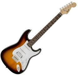 Fender Squier Bullet Stratocaster Tremolo HSS IL Brown Sunburst