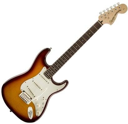 Fender Squier Standard Stratocaster FMT IL Amber Burst